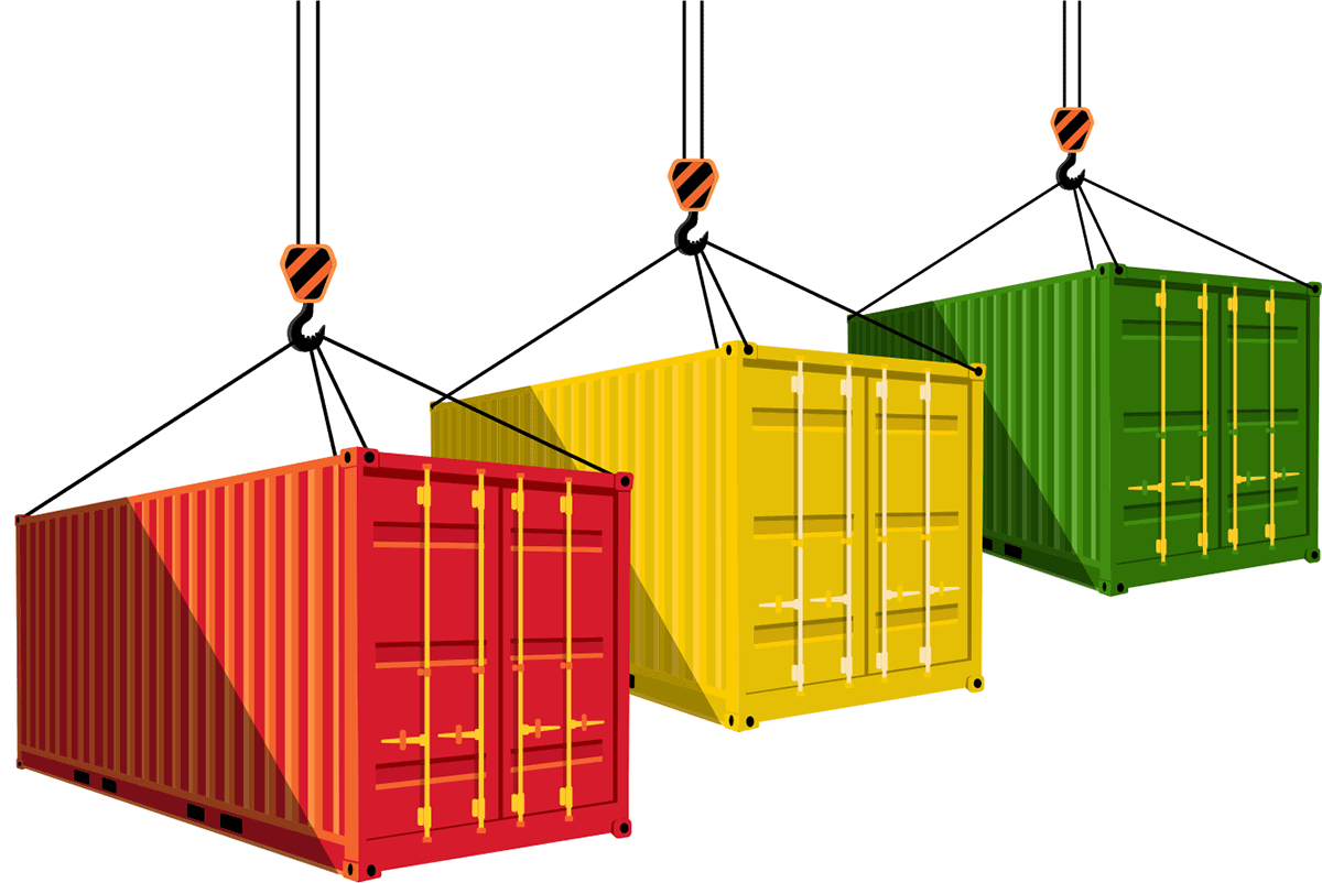 import/export shipping containers